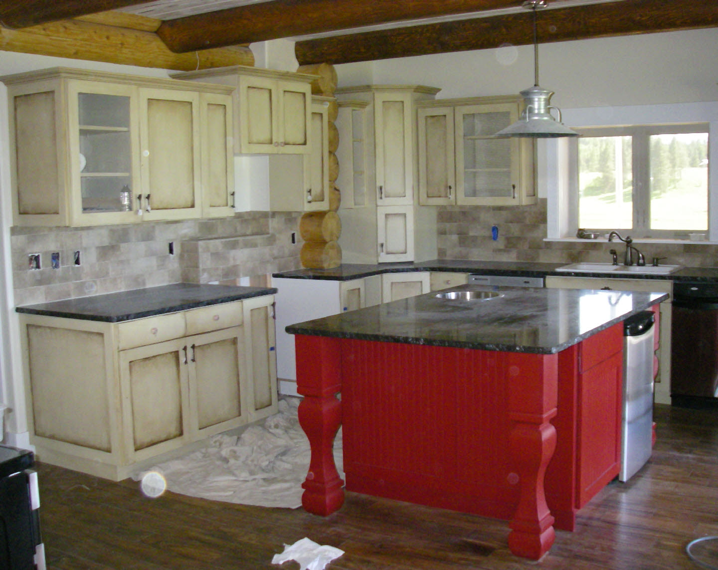 100 rustic red kitchen cabinets home backsplash western for Western kitchen cabinets