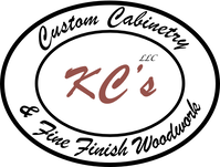KC's Custom Cabinetry & Fine Woodwork Logo